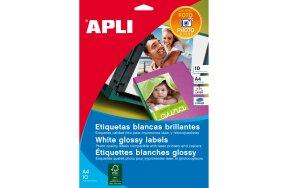 APLI LABELS GLOSSY N.10065